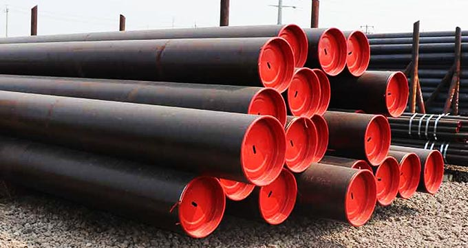 نهایت فشار قابل تحمل لولههای کربنی ساخته شده بر اساس استاندارد های ASME/ANSI B 36.10 و ASTM A53 B