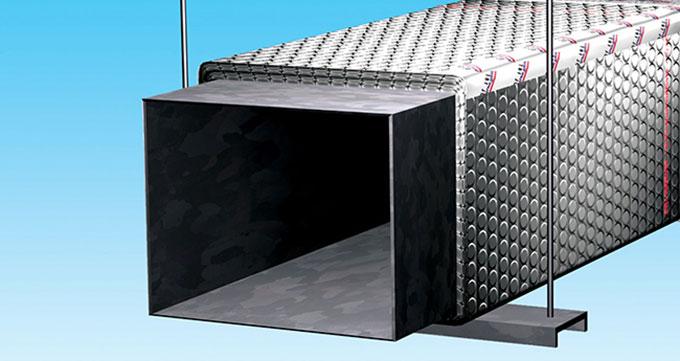 عایق سیستمهای صنعتی HVAC
