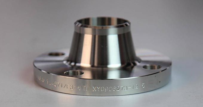فلنج گلودار (WELD NECK FLANGES)