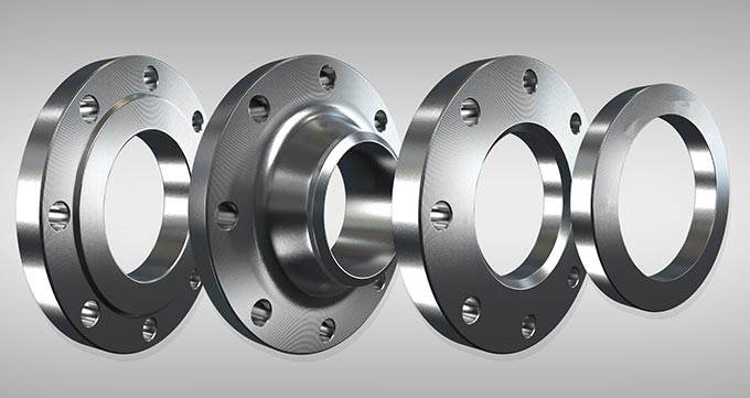 فلنج ساکت ولد (SOCKET WELD FLANGES)