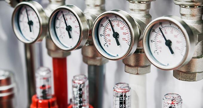 نحوه اندازهگیری فشار با گیج فشار