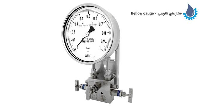 فشارسنج فانوسی (Bellow gauge)
