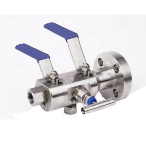 شیر توپی شناور انسداد و تخلیه (DBB)