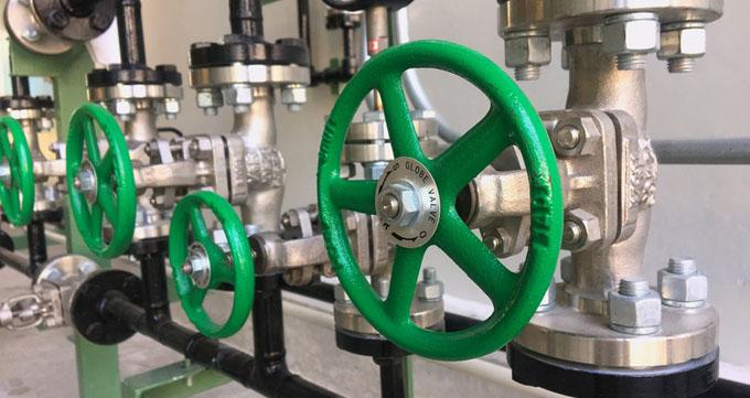 شیر کروی (Globe valve)