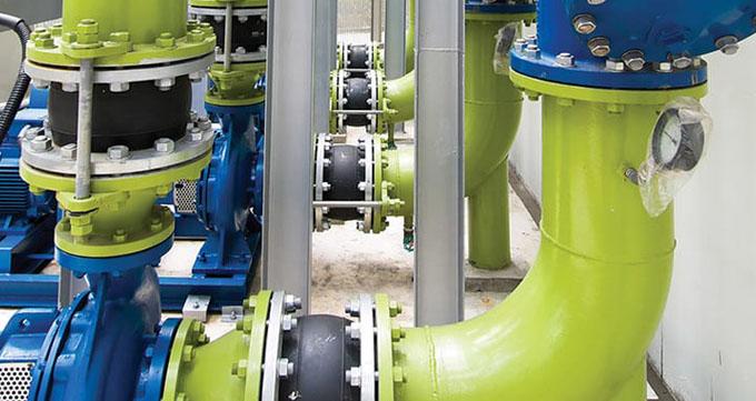 تمیز کردن شیرآلات صنعتی