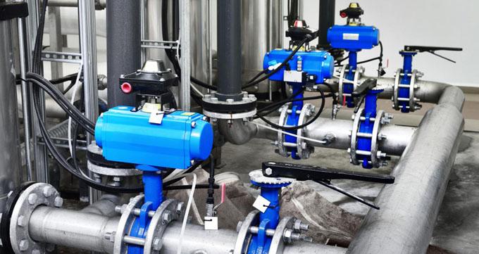 مزایا و معایب شیرآلات صنعتی - شیر پروانه ای ( Butterfly valve )