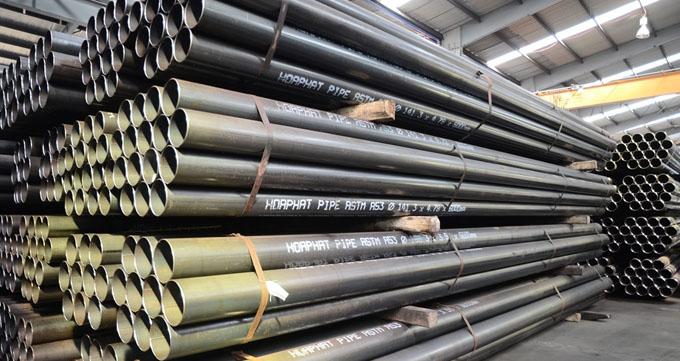 انواع استاندارد لوله کربن استیل