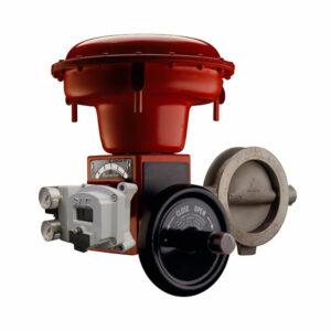 شیر کنترل دوار پروانه ای Minitork II سری 37002